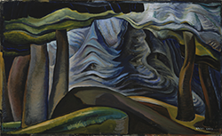 Deep Forest, painting by Emily Carr