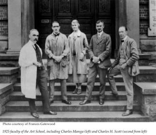 Faculty and Administration, Vancouver School of Decorative and Applied Arts c. 1925