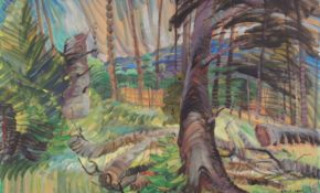 A Forest Clearing, Painting by Emily Carr