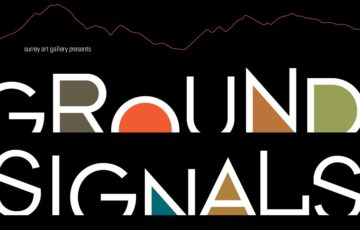 Ground Signals Poster Sept 2017
