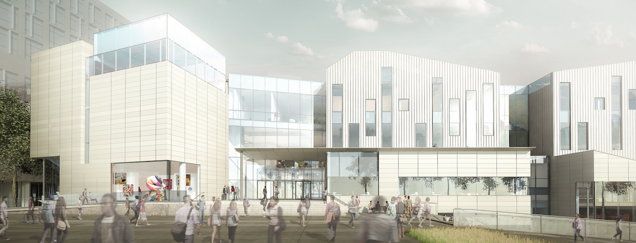 Emily Carr University's new campus at Great Northern Way | Architectural Renderings 2015