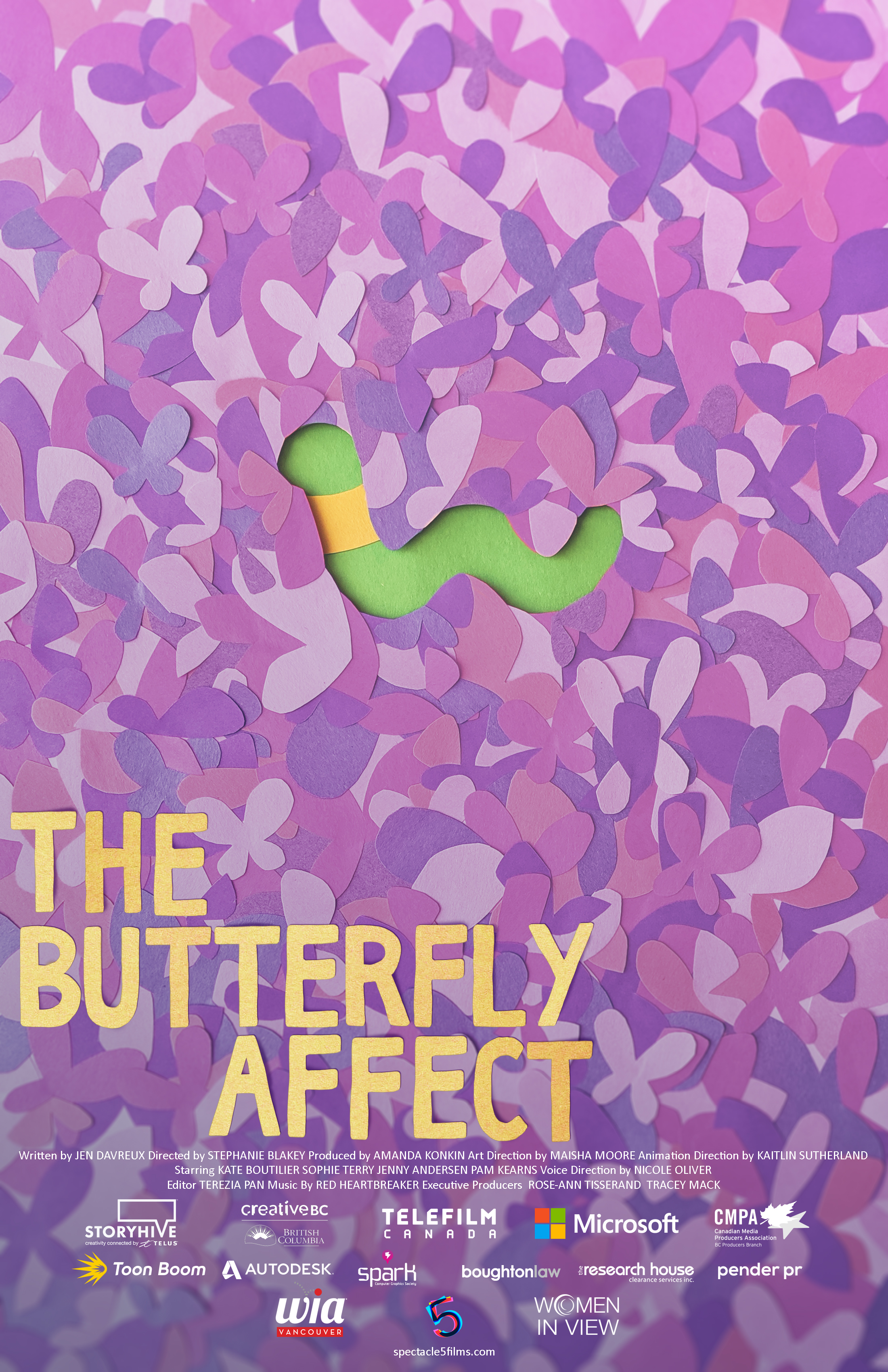 The Butterfly Affect Poster 11x17 1