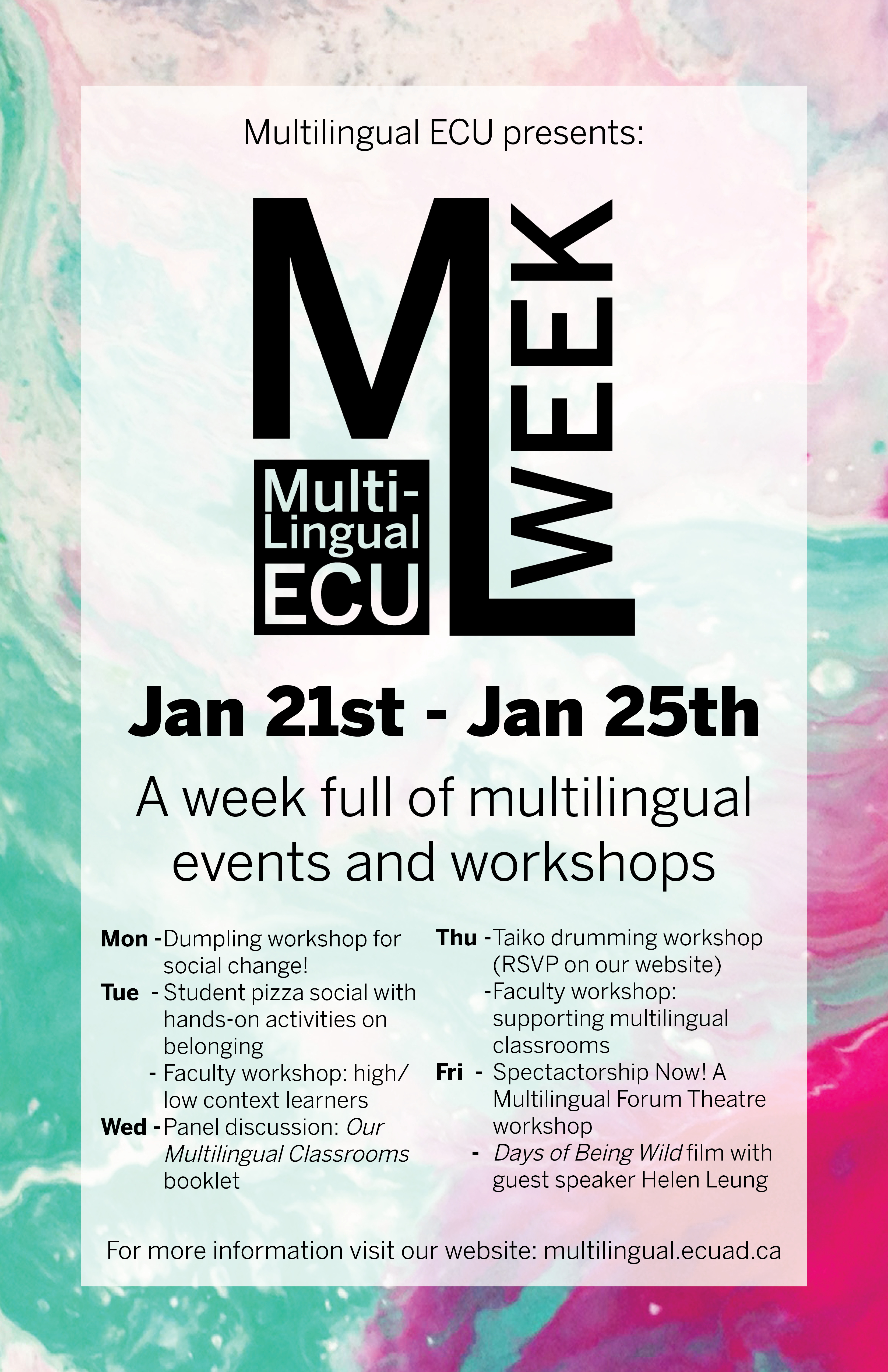 Ml Week Poster New