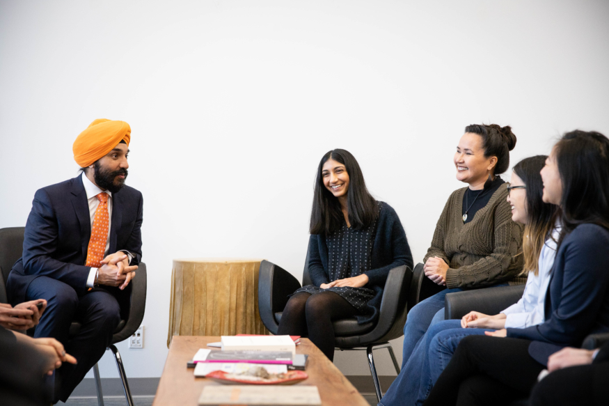 Minister Navdeep Bains Visits ECU on the Heels of Digital ...