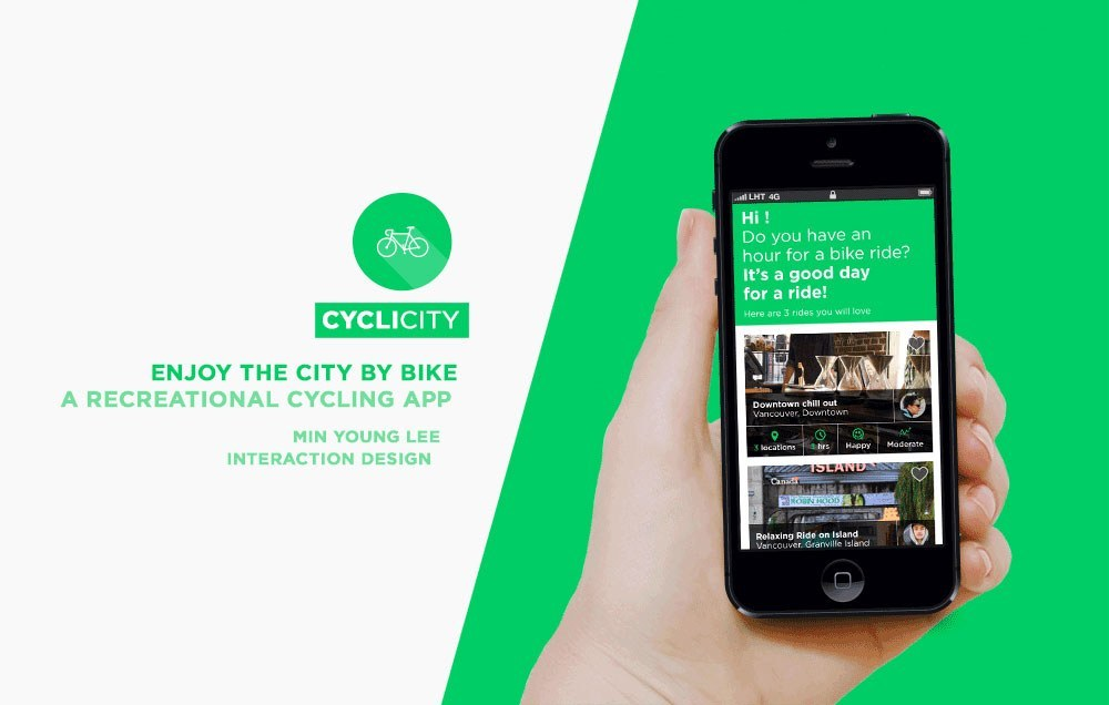 Cyclicity A Recreational Cycling App Emily Carr University Of